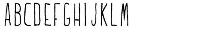 Lucidity Ballpoint Font UPPERCASE