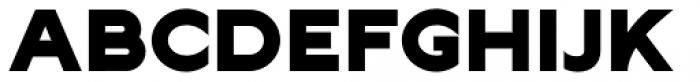 Lucifer Sans Expanded Black Font UPPERCASE