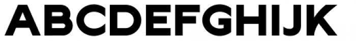 Lucifer Sans Expanded ExtraBold Font UPPERCASE
