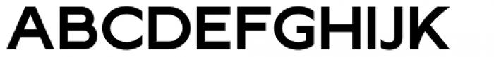 Lucifer Sans Expanded SemiBold Font UPPERCASE