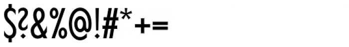 Lucifer Sans ExtraCondensed Light Font OTHER CHARS