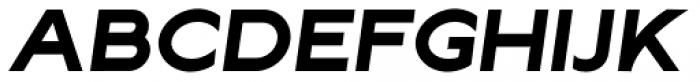 Lucifer Sans ExtraExpanded Bold Italic Font UPPERCASE