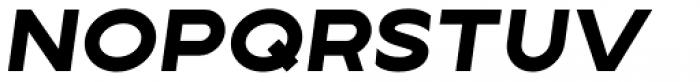 Lucifer Sans ExtraExpanded ExtraBold Italic Font UPPERCASE