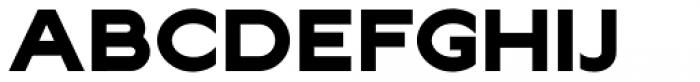 Lucifer Sans ExtraExpanded ExtraBold Font UPPERCASE