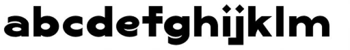 Lucifer Sans ExtraExpanded ExtraBold Font LOWERCASE