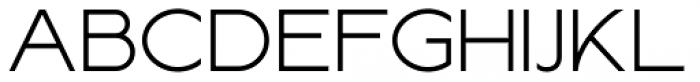 Lucifer Sans ExtraExpanded ExtraLight Font UPPERCASE