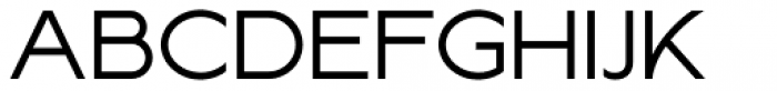Lucifer Sans ExtraExpanded Light Font UPPERCASE