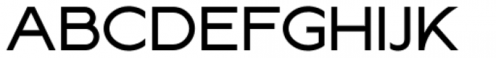 Lucifer Sans ExtraExpanded Regular Font UPPERCASE