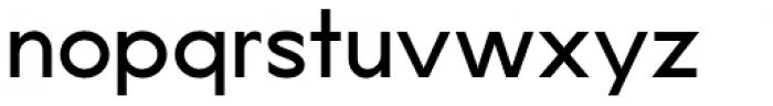 Lucifer Sans SemiExpanded Regular Font LOWERCASE