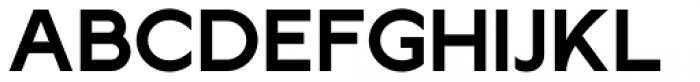 Lucifer Sans SemiExpanded SemiBold Font UPPERCASE