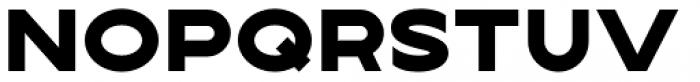 Lucifer Sans Wide Black Font UPPERCASE