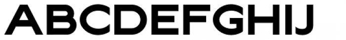 Lucifer Sans Wide Bold Font UPPERCASE