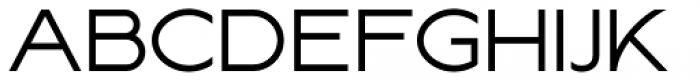 Lucifer Sans Wide Light Font UPPERCASE
