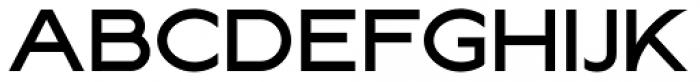 Lucifer Sans Wide Medium Font UPPERCASE