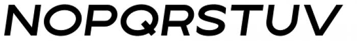Lucifer Sans Wide SemiBold Italic Font UPPERCASE