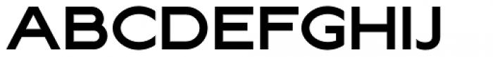 Lucifer Sans Wide SemiBold Font UPPERCASE