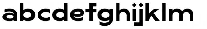 Lucifer Sans Wide SemiBold Font LOWERCASE