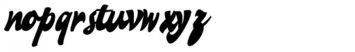 Lucrecia 1 Font LOWERCASE