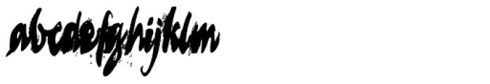 Lucrecia 3 Font LOWERCASE