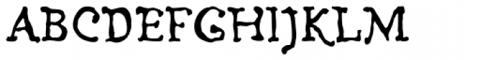 Ludwig Std Font UPPERCASE