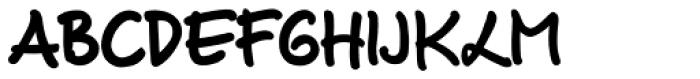 Luedickital D ExtraBold Font UPPERCASE