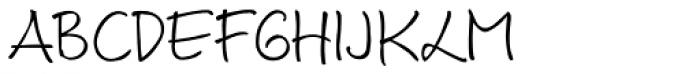 Luedickital D Light Font UPPERCASE