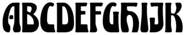 Lugano Font UPPERCASE