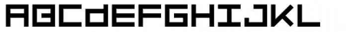 Luggage Regular Font UPPERCASE