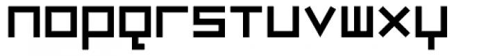 Luggage Regular Font LOWERCASE