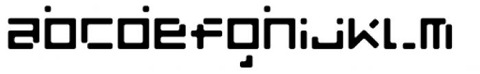 Luggage Round Broken Regular Font LOWERCASE