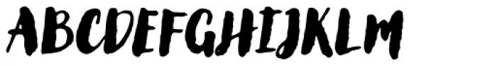 Lullabies Heavy Font UPPERCASE