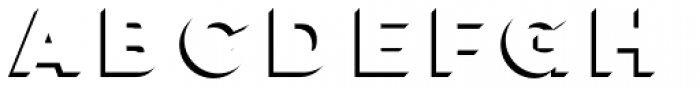 Lulo Clean Three Bold Font LOWERCASE
