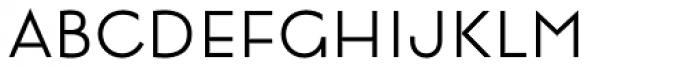 Lumier Light Font LOWERCASE