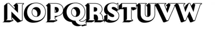 Lumiere Eleven Font UPPERCASE
