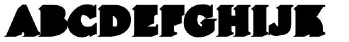 Lumiere Four Font LOWERCASE