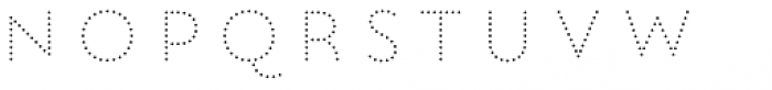 Lumiere Seven Font UPPERCASE