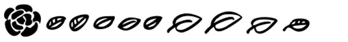 Lumios Design Elements Font UPPERCASE
