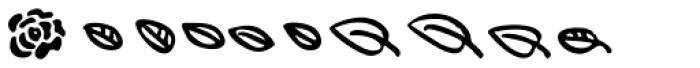 Lumios Design Elements Font LOWERCASE