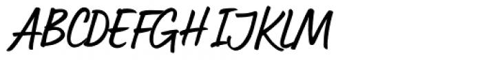 Lumios Marker Font UPPERCASE