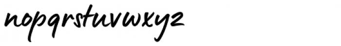 Lumios Marker Font LOWERCASE