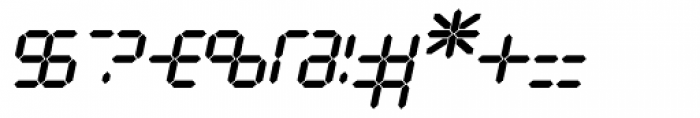 Luna 10 AOE Italic Font OTHER CHARS