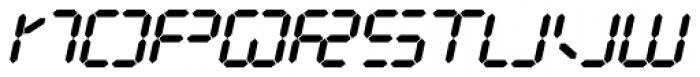 Luna 10 AOE Italic Font UPPERCASE