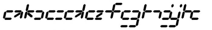 Luna 10 AOE Italic Font LOWERCASE