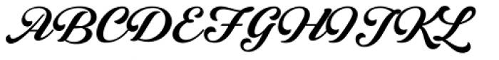 Lunair Base Font UPPERCASE