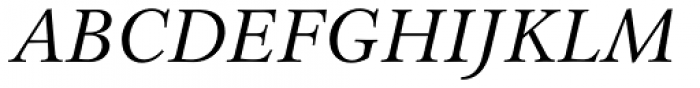 Lunaquete Text Italic Font UPPERCASE