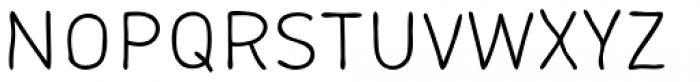 Lunar Light Font UPPERCASE