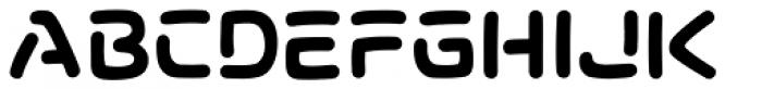 Lunar Orbiter Font UPPERCASE
