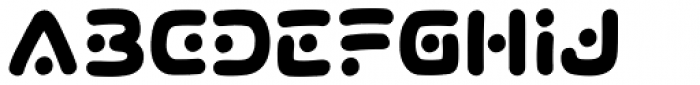 Lunar Rover Bold Font UPPERCASE