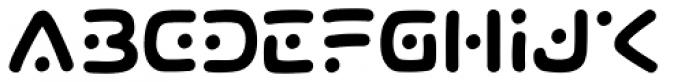 Lunar Rover Font UPPERCASE
