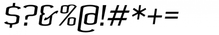 Lunarmod Italic Font OTHER CHARS